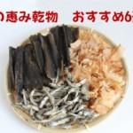 """""""おすすめ乾物20選""""魚介&海藻6選-防災食&日常食で取り入れる"""