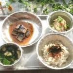 非常食レトルト魚類主菜の手間なしお湯だけで作ったバランスメニュー