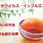 ウイルス対策!緑茶や紅茶を飲む効果と正しいうがい予防法・新型コロナ&インフルエンザ